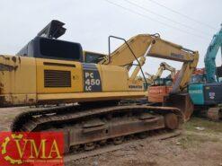 Máy xúc đào Komatsu PC450-8 sản xuất năm 2010