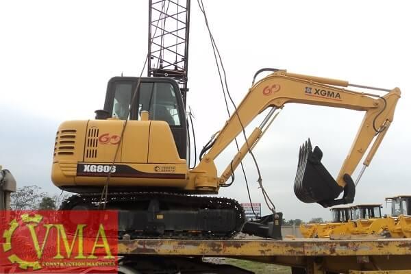 Máy xúc Trung Quốc mới cũ đã qua sử dụng - CVMA Việt Nam
