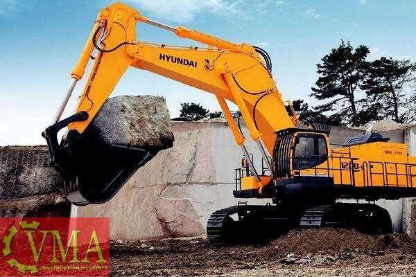 Máy xúc đào Hyundai